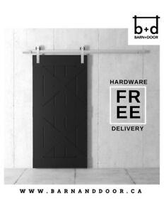 DISCOUNTED BARN DOORS – UP TO 50% OFF SHOWROOM DISPLAY