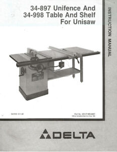 Delta tilt-arbor table Saw