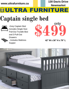Captain single bed
