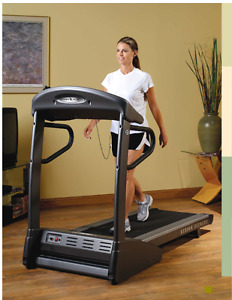 Treadmill Vision Fitness fold-able with rubber mat