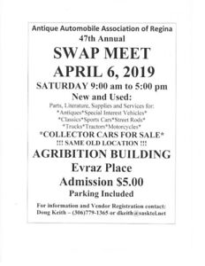 47th Annual Swap Meet and Car Corral