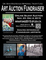 Art Auction Fundraiser - Online - Canadian Art/Jewelry