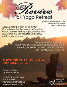 Revive Fall Yoga Retreat! Kawartha Lakes Peterborough Area image 2
