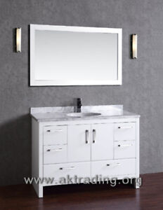 Solid oak wood vanity... SALECHECK US OUTThese vanity come fu