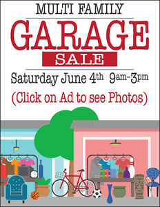 MULTI FAMILY GARAGE SALE >>Click on Ad to see Photos<<