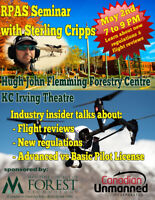 Free Seminar on New Drone Regulations in Canada - May 2nd, 2019