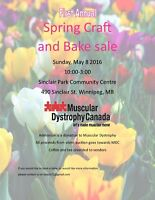 Spring Craft and Bake Sale 2016