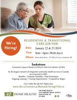 CBI In- house Recruitment Fair - Saskatoon ( January 22 & 23)