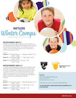 Rattlers Winter Camps!!! Limited Spots!! Ages 5-11
