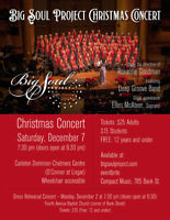 Big Soul Project Christmas concert