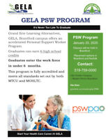 Earn Your PSW Certificate And Be Working In Under 6 Months!
