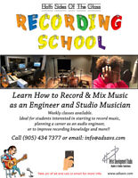 Both Sides of The Glass Recording School