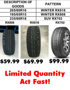 Unbeatable Prices! Brand New Winter/SUV Tires