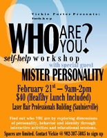 Who Are You? Self-Help Workshop