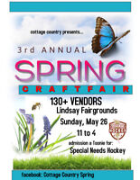 3RD ANNUAL LINDSAY SPRING CRAFT SHOW