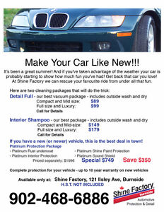 MAKE YOUR CAR LIKE NEW!!!