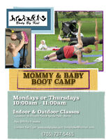 Mommy and Baby Bootcamp! ( Fall Session)