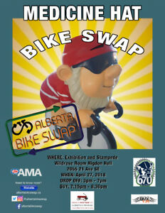 Medicine Hat Bike Swap 2018