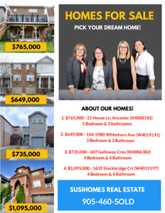 Looking for a home to purchase? Check these beauties!