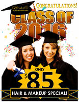 PROM/GRAD HAIR AND MAKEUP SPECIAL!