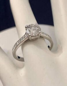 14k gold 1.32ct. diamond engagement ring *Appraised @ $10,500