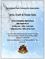 Arts, Crafts & Trade Sale