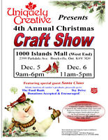 Uniquely Creative Christmas Craft Show