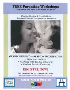 COPEing with Toddler Behaviour - Free 8-session workshop