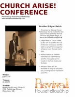 Rev. Edgar Reich coming to Moncton
