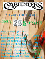Carpenter for Hire No Job To Small