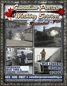 Canadian Pressure Washing Services and Water Hauling