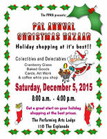 PAL 12th Annual Christmas Bazaar