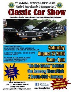 8th Annual Bob Murdoch Memorial Classic Car Show