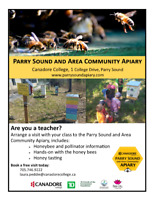 Visit the Parry Sound and Area Community Apiary