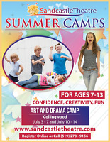 Sandcastle Theatre summer camps in Collingwood
