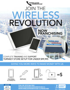 Join the Wireless Revolution - Wireless Warehouse Franchise