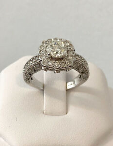 Used, 18k gold Halo 2.01ct. diamond engagement ring/Certified $12,100 for sale  Toronto