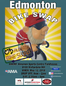 Edmonton Bike Swap 2018