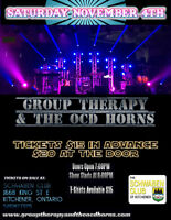 Group Therapy & the Ocd Horns CONCERT