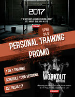 4 Weeks/Month Personal Training Promo