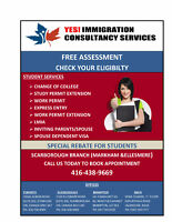 IMMIGRATION SERVICES FOR INTERNATIONAL STUDENTS