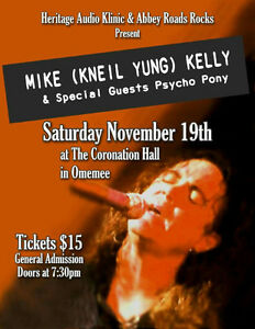 Mike( KNEIL YUNG) Kelly and psycho pony Kawartha Lakes Peterborough Area image 1
