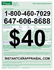 10 MINUTE CAR APPRAISAL (ONLINE/MOBILE) SAVE $100's ON HST TAX!