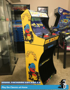New Premium Arcade Bartop Cabinet & Stand with 9,880 games, Wty
