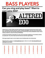 Altered Ego looking for Bassist