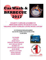 Annual Car Wash & barbecue Vendors Wanted $45