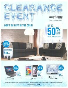 Easyhome Clearance Event