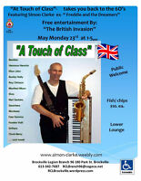 """Simon Clarke  """"A Touch of Class""""  Takes you back to the 60's"""