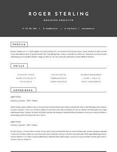 Stop blending in! Designer RESUMES, any budget Prince George British Columbia image 1
