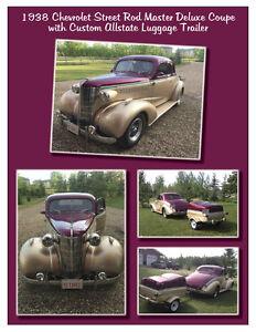 1938 Chevrolet Master Deluxe 2 Door Business Coach, Street Rod